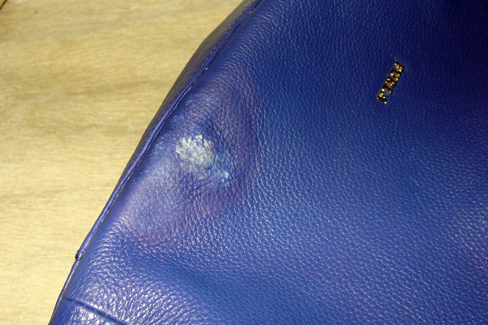 Как перекрасить кожаную сумку?