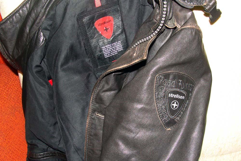 Ремонт кожаной куртки Strellson