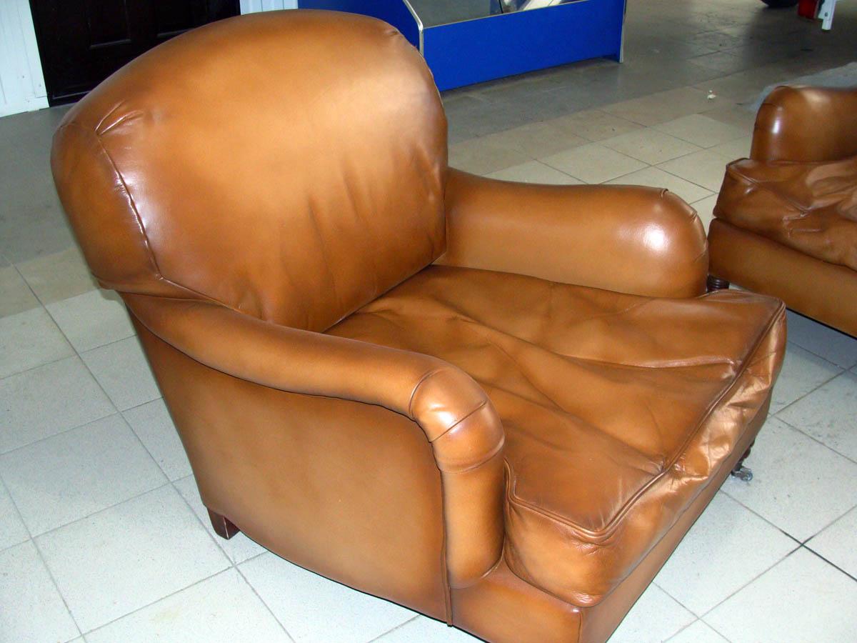 Ремонт кожаных подлокотников кресла своими руками 8