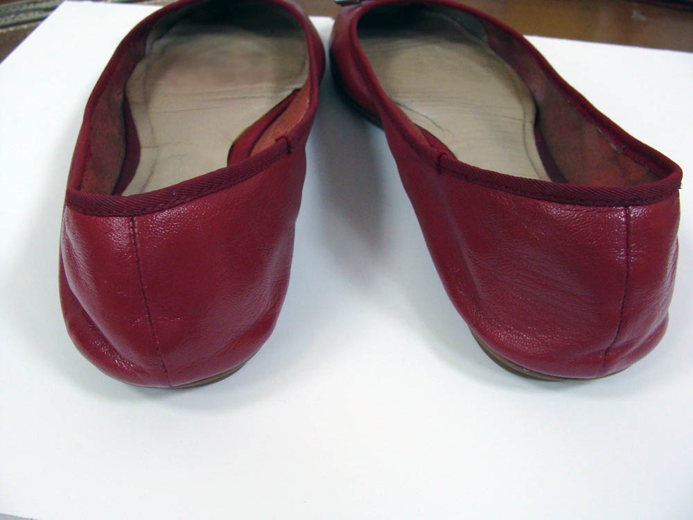 женские кожаные балетки DKNY